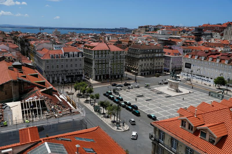 FILE PHOTO: Tourism amid COVID-19 pandemic, in Lisbon
