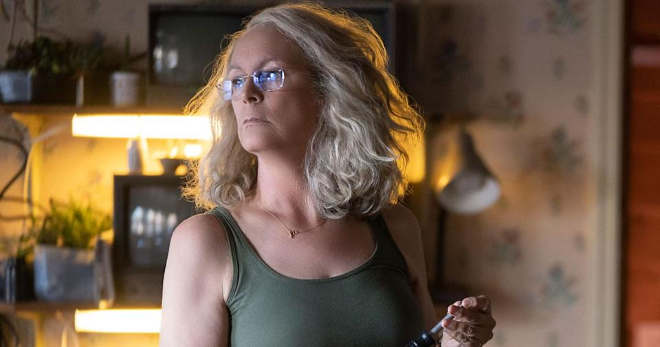 Jamie Lee Curtis in Halloween (Credit: Universal)