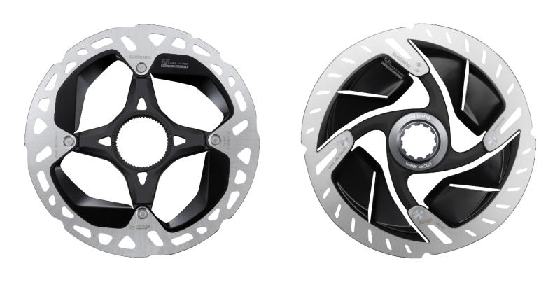 Shimano XTR vs Dura-Ace rotors