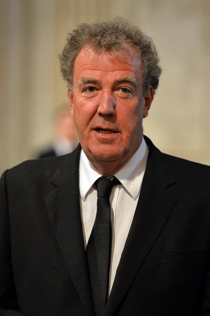 British broadcaster Jeremy Clarkson in central London on April 17, 2013