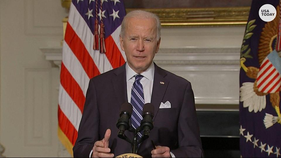 President Biden signed executive actions tied to combating climate change, including elevating climate change as a national security concern.