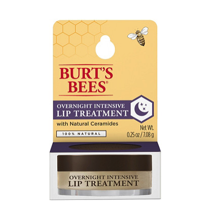 """<p><strong>Burt's Bees</strong></p><p>ulta.com</p><p><strong>$8.99</strong></p><p><a href=""""https://go.redirectingat.com?id=74968X1596630&url=https%3A%2F%2Fwww.ulta.com%2Fovernight-intensive-lip-treatment%3FproductId%3DxlsImpprod17291101&sref=https%3A%2F%2Fwww.goodhousekeeping.com%2Fbeauty%2Fmakeup%2Fg3325%2Fbest-lip-balms%2F"""" rel=""""nofollow noopener"""" target=""""_blank"""" data-ylk=""""slk:Shop Now"""" class=""""link rapid-noclick-resp"""">Shop Now</a></p><p>A winner of our <a href=""""https://www.goodhousekeeping.com/beauty/g19606205/beauty-awards-2018/?slide=25"""" rel=""""nofollow noopener"""" target=""""_blank"""" data-ylk=""""slk:2018 Beauty Awards"""" class=""""link rapid-noclick-resp"""">2018 Beauty Awards</a>, this <strong>overnight balm packs skin-healthy ceramides, jojoba seed oil, and castor oil </strong>to nourish dry lips as you sleep. One tester even found that her cracked lips improved over a few nights' time.</p>"""