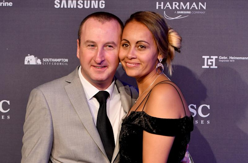 Andy Whyment and wife Nicola have been together for 16 years (Credit: Getty Images)