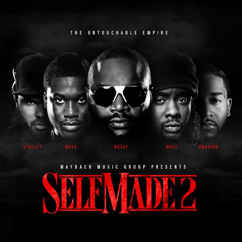 """This CD cover image released by Warner Bros., shows the latest release by Maybach Music Group, """"Self Made Vo. 2""""  (AP Photo/Maybach Music Group/Warner Bros.)"""