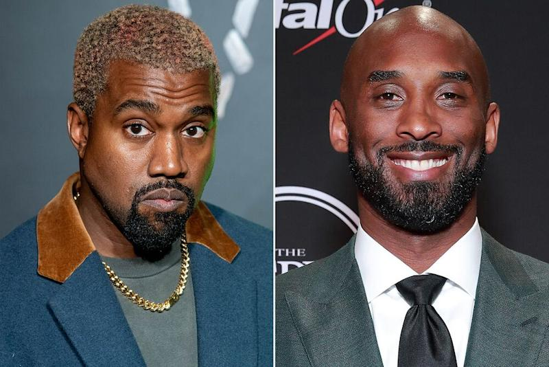 Kanye West and Kobe Bryant | Roy Rochlin/Getty; Rich Fury/Getty