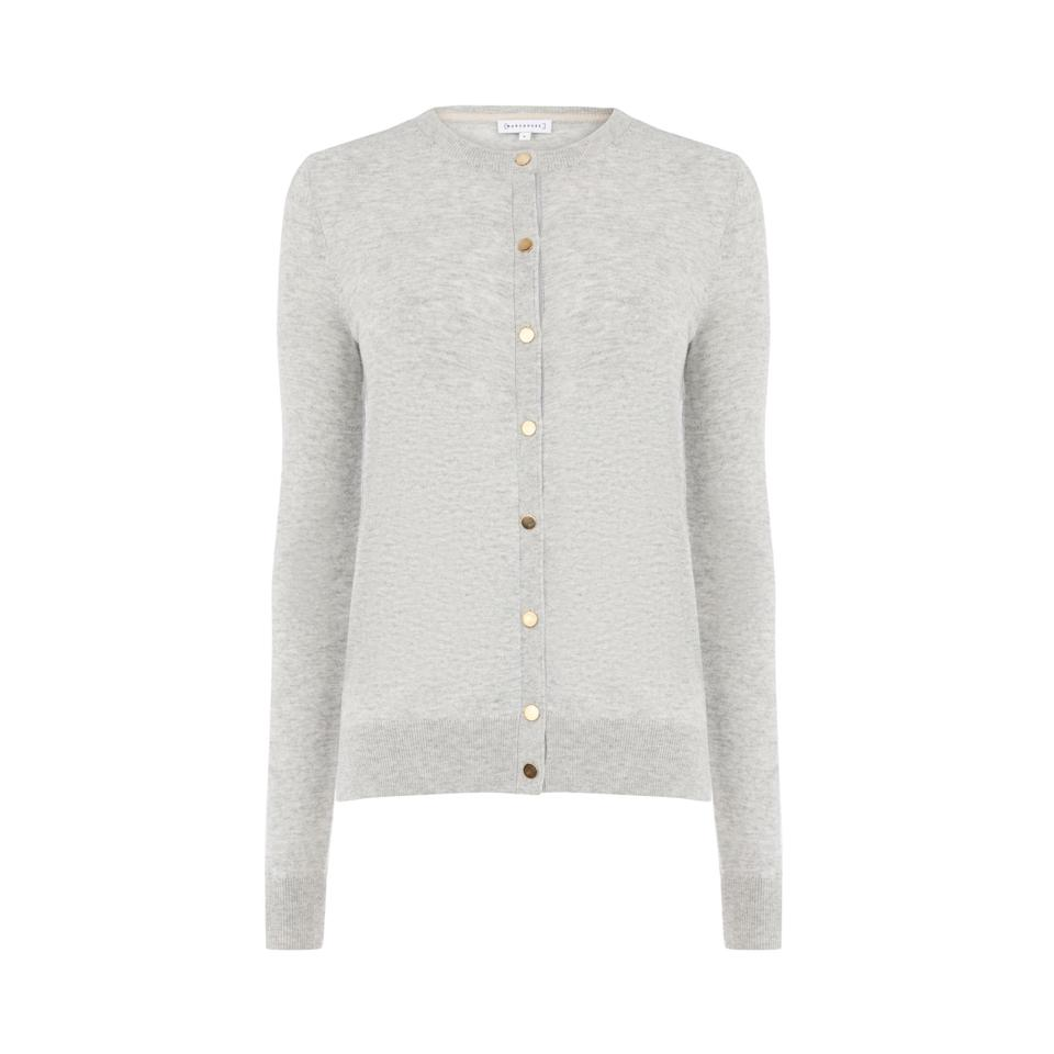"""<p>Cardies needn't be pricey. Look to Warehouse for some of the greatest autumnal investments you could possibly make this season. <em><a rel=""""nofollow noopener"""" href=""""http://www.warehouse.co.uk/gb/clothing/jumpers-and-cardigans/crew-cardi/028923.html?dwvar_028923_color=61&position=10#q=cardigans&start=10&categoryID=null"""" target=""""_blank"""" data-ylk=""""slk:Warehouse"""" class=""""link rapid-noclick-resp"""">Warehouse</a>, £26</em> </p>"""