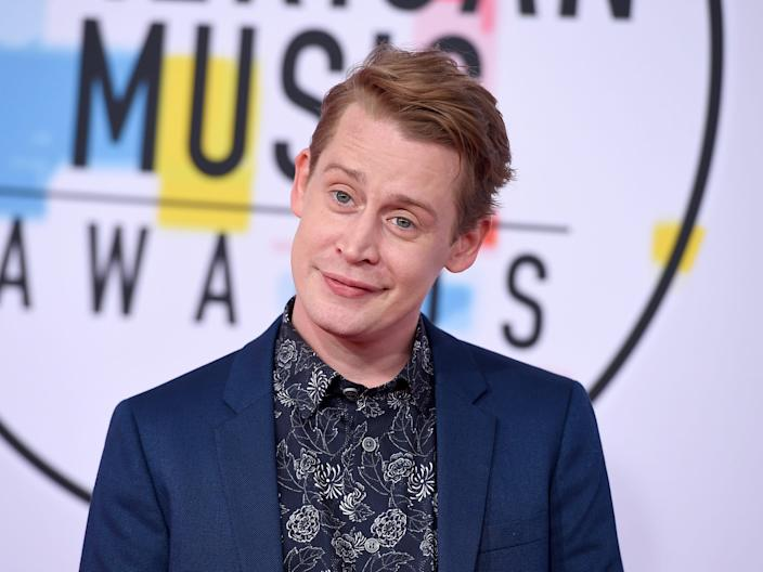 Macaulay Culkin grown up.