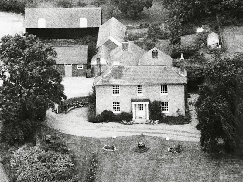 White House Farm in Essex, scene of the Bamber murders. The court decided Jeremy had placed the gun in his dead sister's hands to make it look like murder-suicide (Rex)