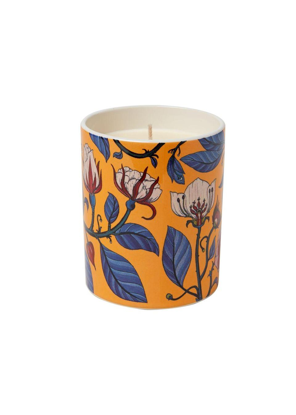"""<p>Made with all-natural wax, these pretty candles from Polkra feature surreal botanical drawings by the award-winning artist Katie Scott. Choose from five enchanting scents, including our favourite, Calypso Rose, with floral notes and a subtle woody bouquet. You can enjoy these candles long after the wax meets the bottom of the wick, as the ceramic pots make wonderful vessels for pens, toothbrushes, plants and more. ALEXANDRA DUDLEY</p><p>£49, <a href=""""http://www.polkra.com"""" rel=""""nofollow noopener"""" target=""""_blank"""" data-ylk=""""slk:Polkra"""" class=""""link rapid-noclick-resp"""">Polkra</a></p>"""
