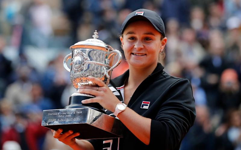 Barty will now take time to decide whether to defend her French Open title - AP