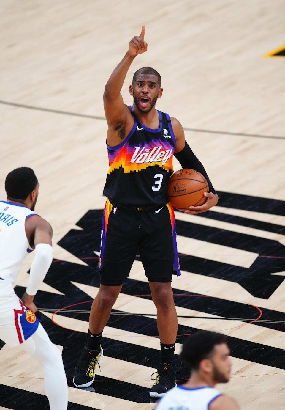 Chris Paul has been a driving force behind the Suns advancing to the Western Conference finals.