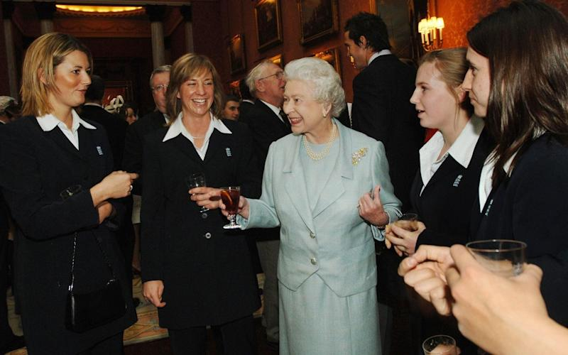 The Queen is often seen drinking what appears to be gin and dubonnet - PA