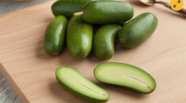 The avocados are stoneless. Source: Marks and Spencer