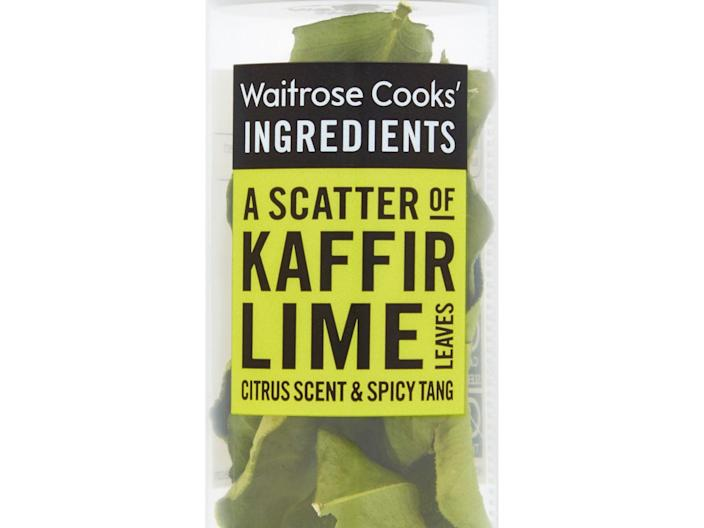Waitrose will change the name of its Cook's Ingredients Kaffir lime leaves to Makrut lime leaves by 2022 (Waitrose)