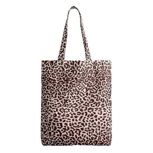 "<a href=""https://www.glamour.com/gallery/spring-summer-boots?mbid=synd_yahoo_rss"" target=""_blank"">Animal-print</a> ain't over yet, folks, and this lightweight tote is made from two and a half recycled plastic bottles. So meta, in the best way. $10, J. Crew. <a href=""https://www.jcrew.com/us/p/womens_category/all_accessories/gifts/recycled-reusable-lightweight-tote-in-leopard/AG580"">Get it now!</a>"