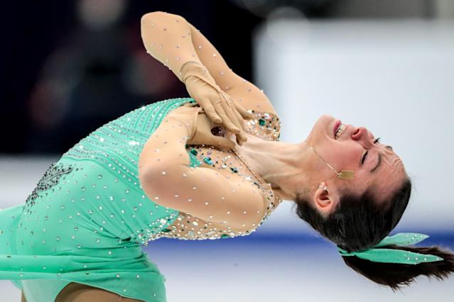 <p>Aimee Buchanan (Boston, MA), Israel, Figure skating </p>
