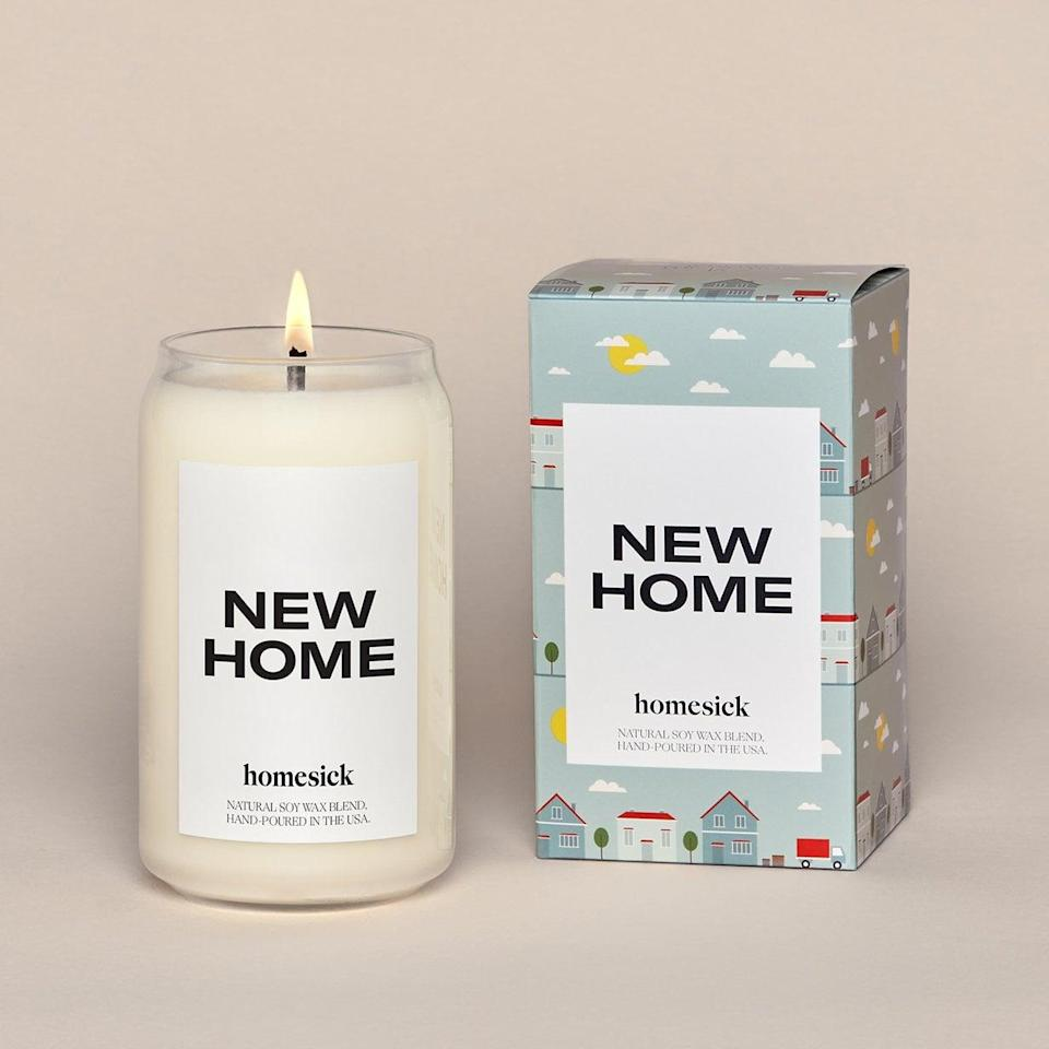<p>Know anyone who just moved into a new place? Get them the <span>New Home Candle</span> ($34) to burn alongside new memories.</p>