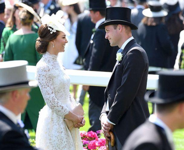 PHOTO: Catherine, Duchess of Cambridge and Prince William, Duke of Cambridge attend Royal Ascot 2017 at Ascot Racecourse on June 20, 2017, in Ascot, England. (Karwai Tang/WireImage via Getty Images, FILE)