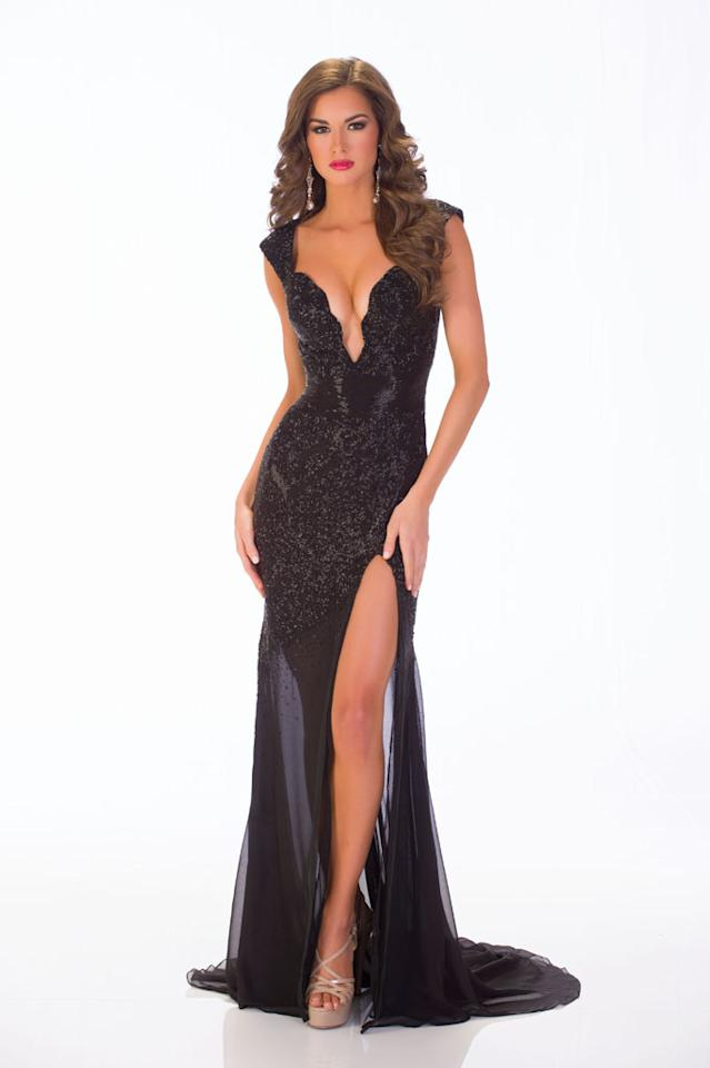 Miss USA 2013 Evening Gown