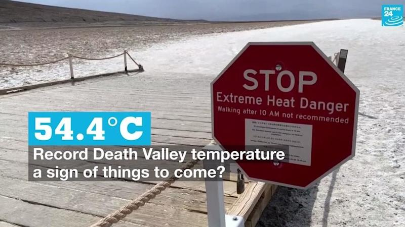 Hot spot: Is Death Valley's record temperature of 54.4C a sign of things to come?