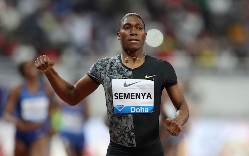 A Swiss court has temporarily suspended the ruling which would have forced Semenya to take testosterone-reducing medication - AP