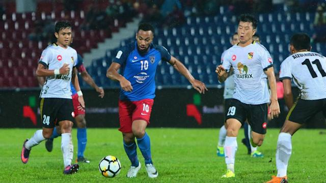 The destiny seemed set after this match for both Johor Darul Ta'zim and Negeri Sembilan but at the very oppposite end of the scale for both teams.
