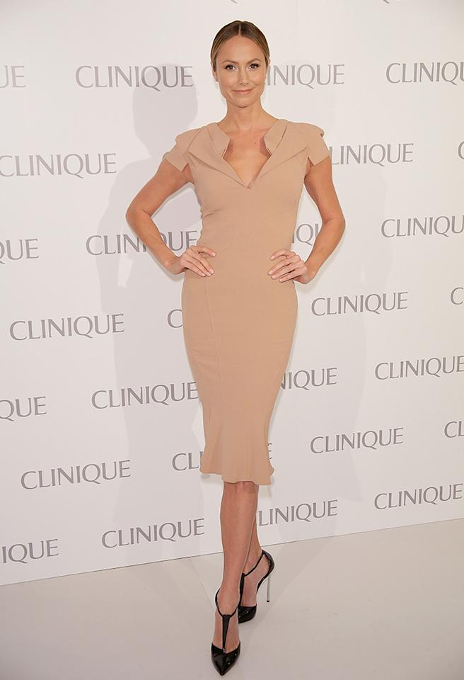 NEW YORK, NY - JUNE 18:  Stacy Keibler attends Dramatically Different Party Hosted By Clinque at 620 Loft & Garden on June 18, 2013 in New York City.  (Photo by Randy Brooke/FilmMagic)