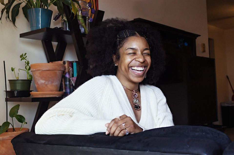 """<p>""""Black joy isn't, in many ways, different from joy itself,"""" Watson said. """"Sometimes Black joy can be recognizing and enjoying and savoring your coffee in the morning. That is my Black joy because I am Black, and I am joyful.""""</p>"""