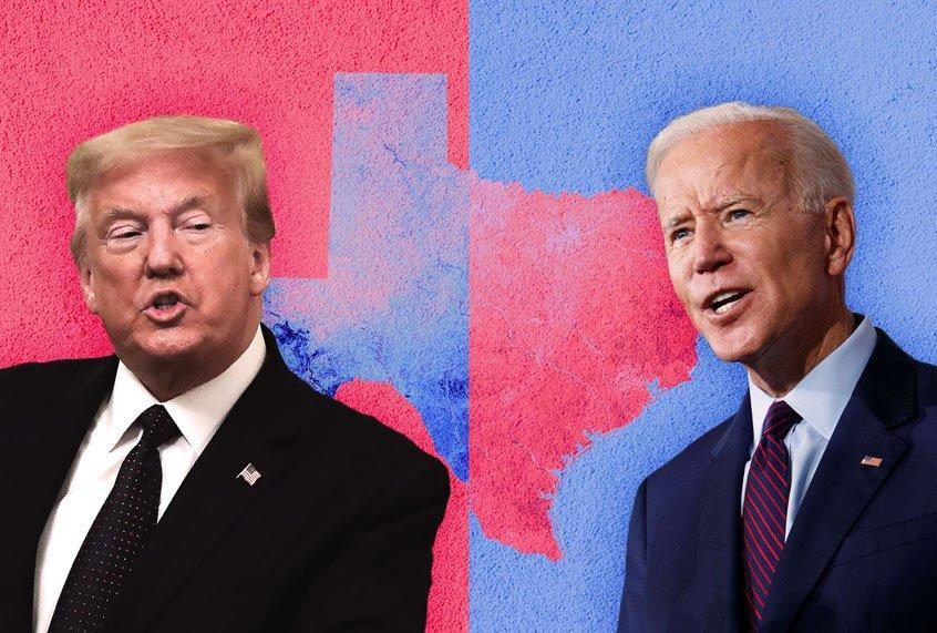 Donald Trump; Joe Biden; Texas