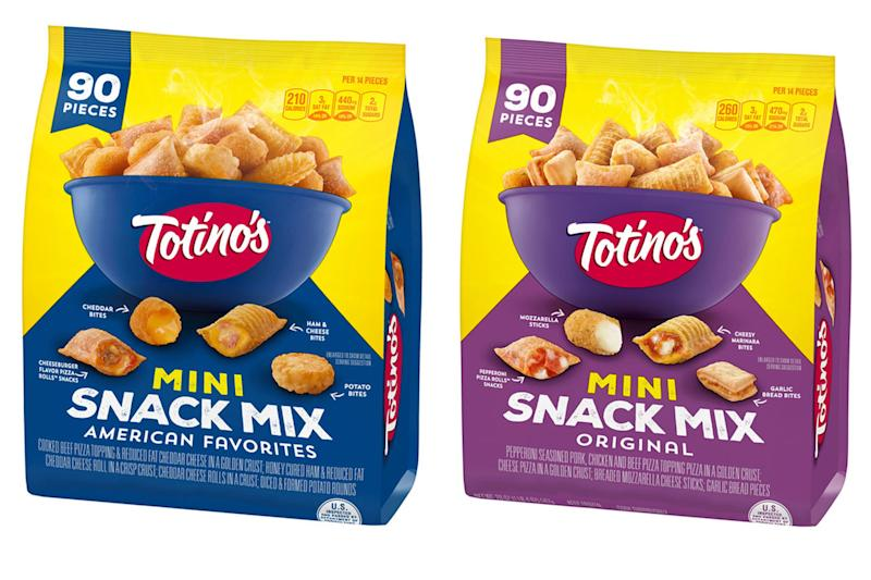 Totino's Created a New Snack Mix That Combines Pizza Rolls with Mini Mozzarella Sticks and More