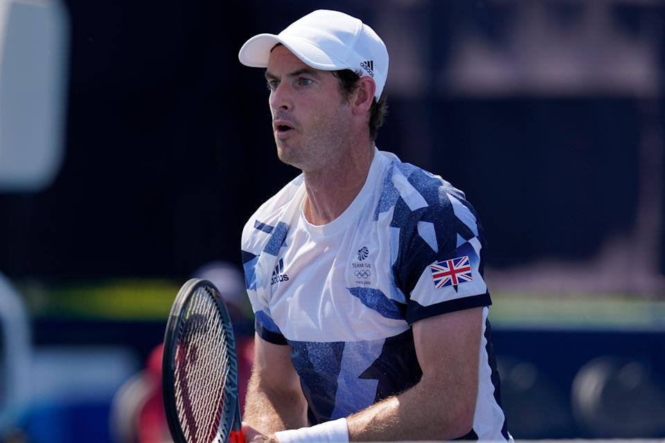 Andy Murray and Joe Salisbury lost in the men's tennis doubles at the Olympics (AP)