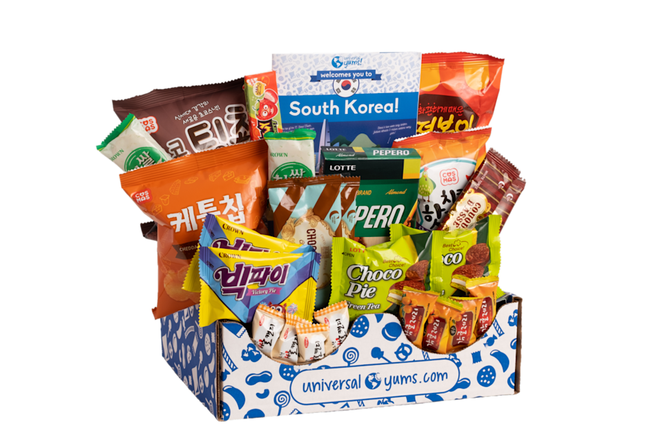 """<p>Explore different cultures the right way — through snacks. Each box come stuffed with <strong>sweet and salty goodies from a different country</strong> each month, and you also get a 12- page booklet with trivia and recipes.</p><p><em>$14+/box<br>Ages: No ages specified</em></p><p><a class=""""link rapid-noclick-resp"""" href=""""https://go.redirectingat.com?id=74968X1596630&url=https%3A%2F%2Fwww.universalyums.com%2F&sref=https%3A%2F%2Fwww.goodhousekeeping.com%2Flife%2Fg5093%2Fsubscription-boxes-for-kids%2F"""" rel=""""nofollow noopener"""" target=""""_blank"""" data-ylk=""""slk:BUY NOW"""">BUY NOW</a></p>"""