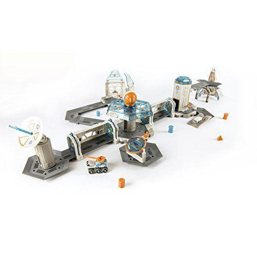 """<p><strong>HEXBUG</strong></p><p>amazon.com</p><p><strong>$39.99</strong></p><p><a href=""""https://www.amazon.com/dp/B073HCFHPY?tag=syn-yahoo-20&ascsubtag=%5Bartid%7C10055.g.29385769%5Bsrc%7Cyahoo-us"""" rel=""""nofollow noopener"""" target=""""_blank"""" data-ylk=""""slk:Shop Now"""" class=""""link rapid-noclick-resp"""">Shop Now</a></p><p>Kids can go wild with their imagination and <strong>create their own adventure for their nanos while learning basic STEM principles</strong>. Once the set is built out, kids can place their nano inside the rocket ship and watch it venture off onto a super-galactic journey. Also included are a rotating gravity trainer, one air lock passage and an ion cannon for added fun. <em>Ages 3+</em><br></p>"""