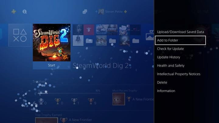 how to organize ps4 game library 20180110124646