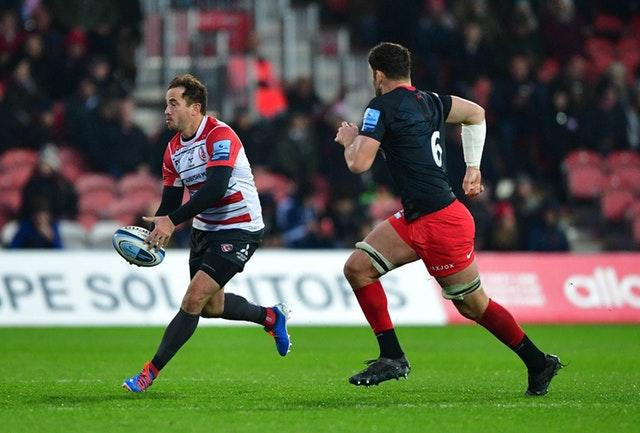 Danny Cipriani during the match at Kingsholm