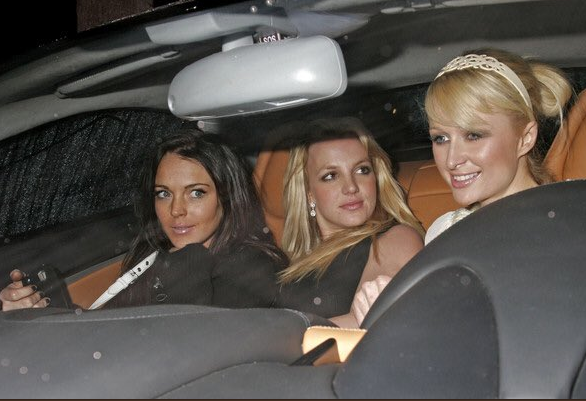 Paris Hilton has shared some old photos of her from 2006 with Britney Spears and Lindsay Lohan. Source: X17