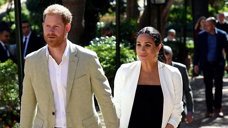 Meghan Markle & Prince Harry Were 'Shocked' the Queen Stripped Them of Their Royal Titles