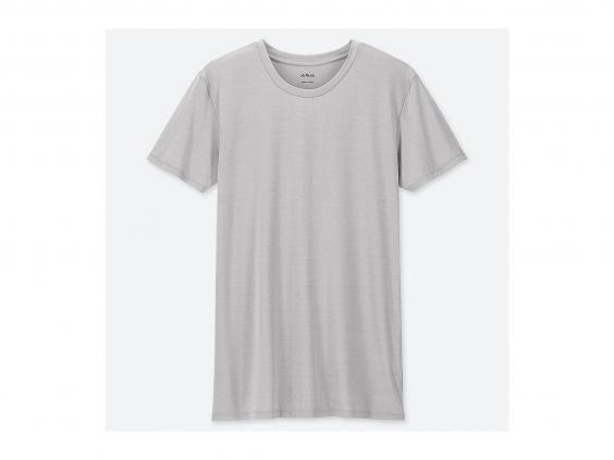 For a loose-fitting tee that's quick-wicking, Uniqlo has an impressive range of inexpensive options (Uniqlo)