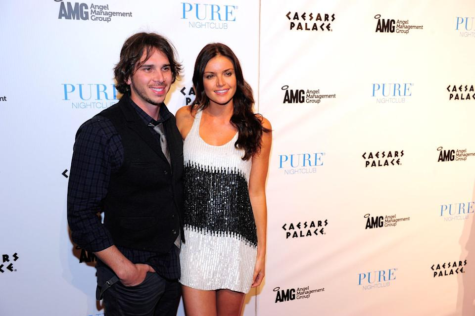 """<h1 class=""""title"""">Ben And Courtney Of ABC's """"The Bachelor"""" Host An Evening At PURE Nightclub</h1><cite class=""""credit"""">Steven Lawton/FilmMagic</cite>"""