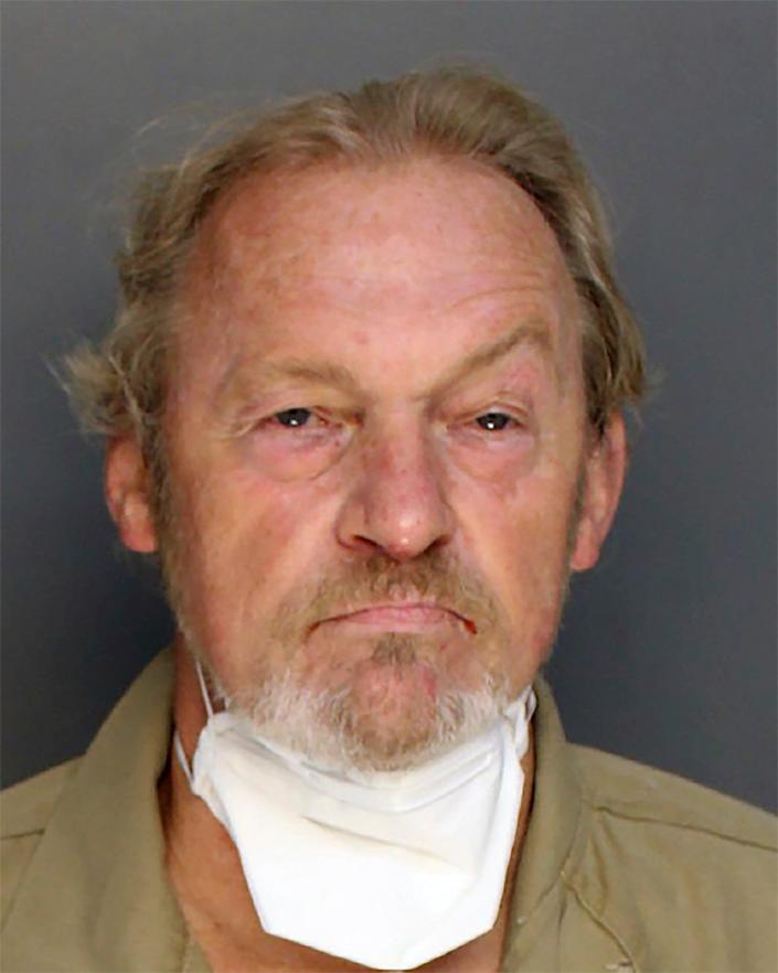 Curtis Edward Smith, 61, has been charged with shooting Alex Murdaugh at Mr Murdaugh's own request (Colleton County sheriffs office)