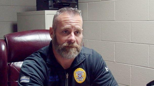 PHOTO: Mannford, Okla. Police Chief Lucky Miller is pictured in undated video footage from KTUL. (KTUL)