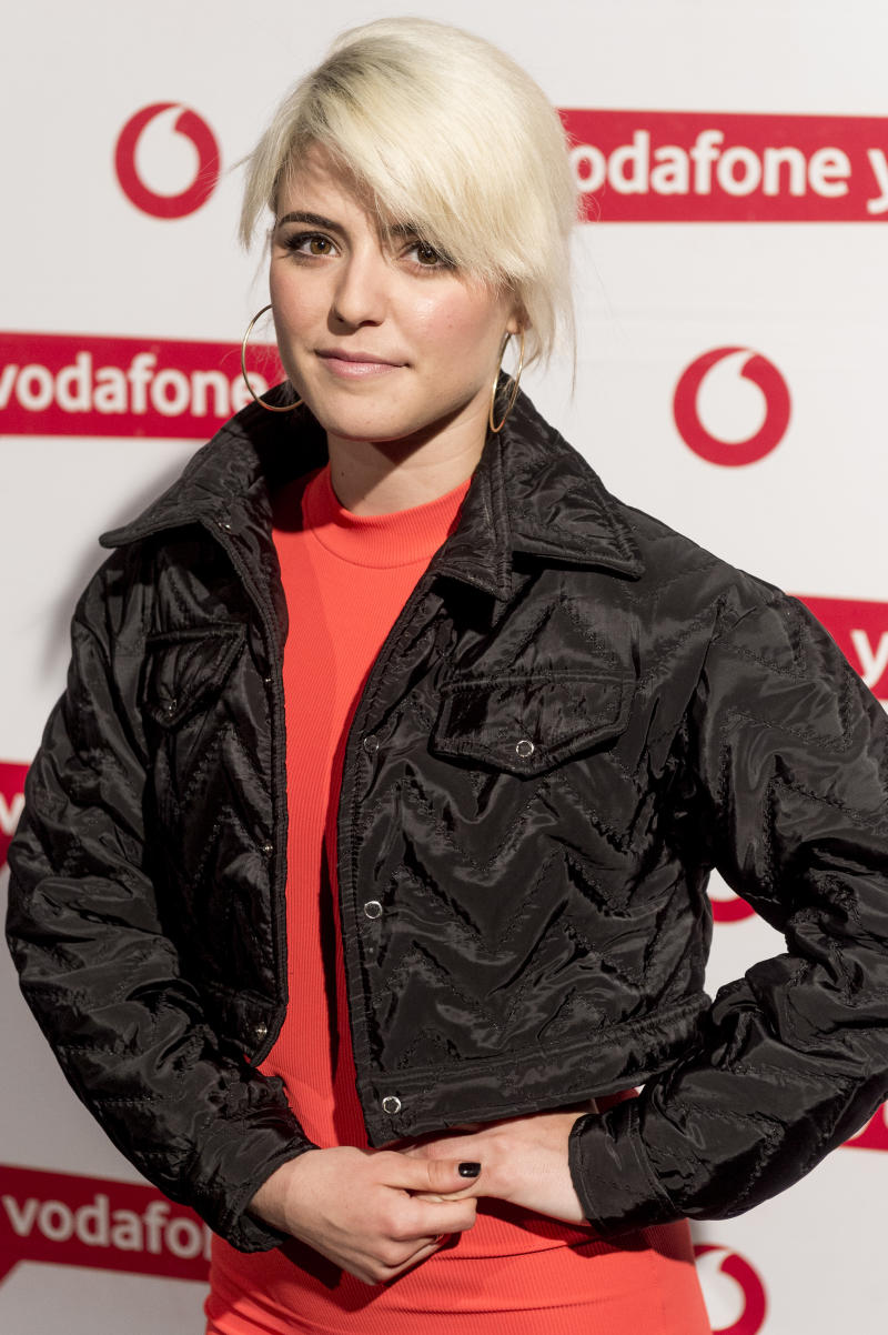 MADRID, SPAIN - MAY 23: Alba Reche attends Dellafuente photocall during Vodafone Yu Music Shows on May 23, 2019 in Madrid, Spain. (Photo by Juan Naharro Gimenez/Getty Images)