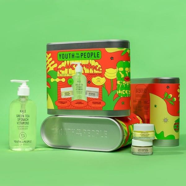 <p>They'll be so excited to try out this <span>Youth To The People The Power of Three Holiday Kit</span> ($44).</p>