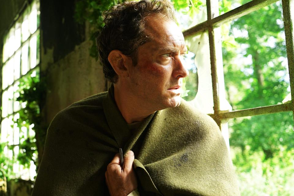 Jude Law stars as a Londoner who finds himself on an English island where the townsfolk have some serious strange customs in HBO's psychological-thriller miniseries