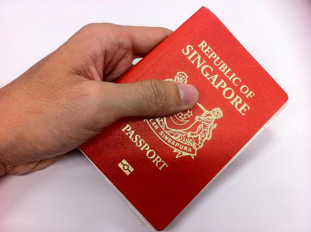 Some 1,280 passport needs to be corrected after a printing alignment. (Yahoo! photo/Ion Danker)
