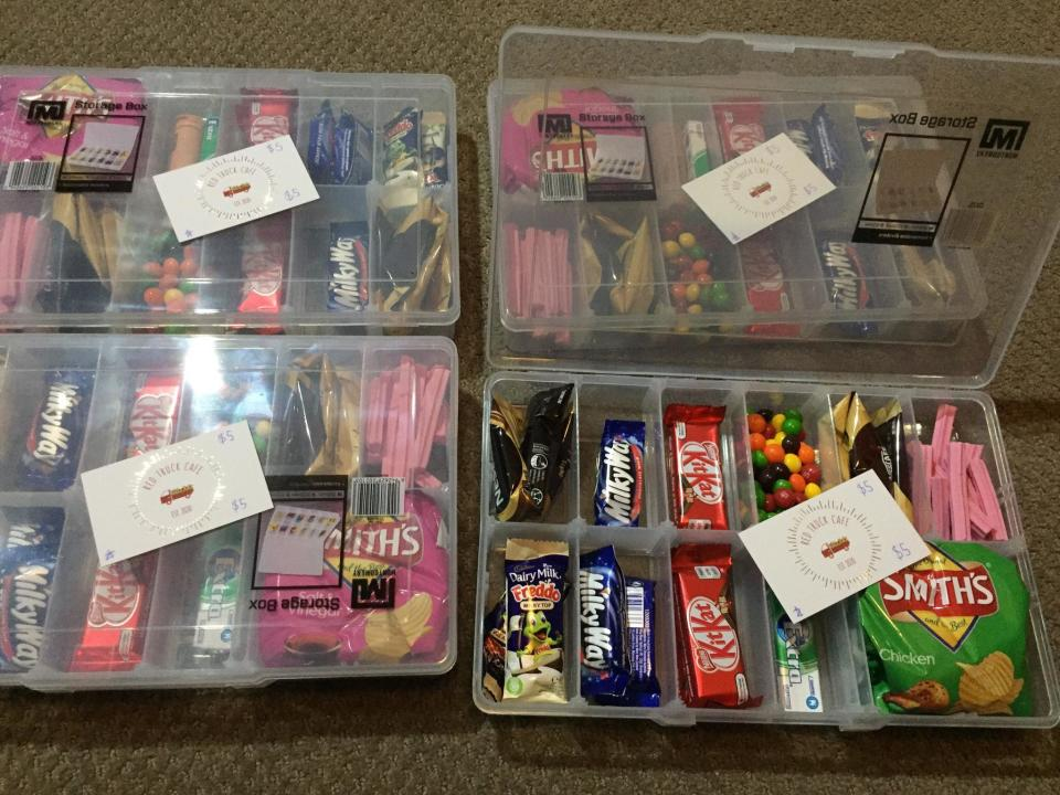 Bunninhgs storage box and cafe voucher gifts for tenants from landlord Victoria