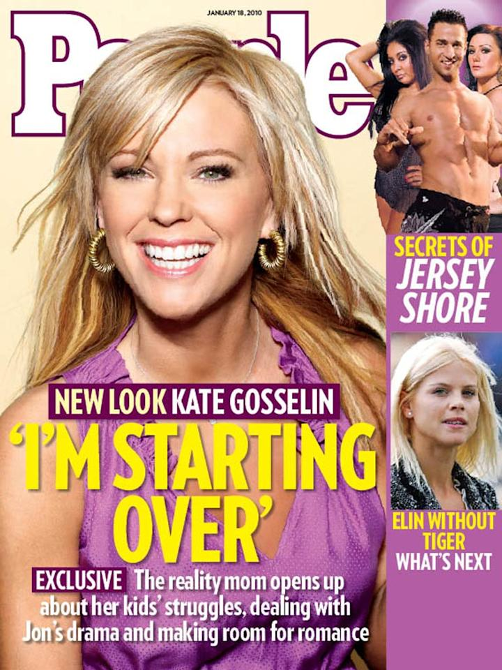 "Speaking of an addition, check out Kate Gosselin's hair extensions. The former ""Jon & Kate Plus 8"" star revealed her new 'do on the cover of <i>People</i> magazine this week. It's not our cup of tea, but it certainly looks better than that spiky mullet she used to sport! <a href=""http://www.people.com/people/"" target=""new"">People</a>"
