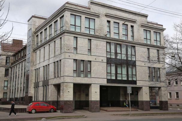 PHOTO: The building known as the 'troll factory' or the Internet Research Agency in St. Petersburg, Russia, is pictured in this April 19, 2015 file photo. (Dmitry Lovetsky/AP, FILE)