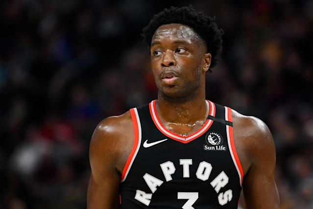 OG Anunoby's value goes beyond stats. (Photo by Alex Goodlett/Getty Images)