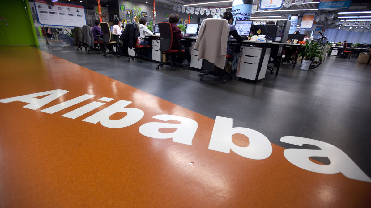 Alibaba Group Holding Ltd Photographer: Nelson Ching/Bloomberg